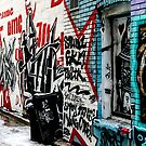 Graffiti Alley Toronto by Jason Dymock Photography