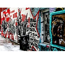 Graffiti Alley Toronto Photographic Print