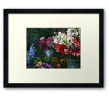 Mary's Pitcher Framed Print