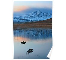 Blaven in the Gloaming, Loch Cill Chriosd, Isle of Skye. Scotland. Poster