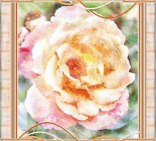 watercolour rose by cynthiab