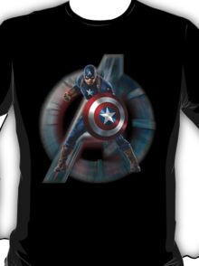 Captain America - Defense and Offense mode T-Shirt