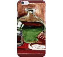 Still Life (Olive Oil,Spice & Melon) iPhone Case/Skin
