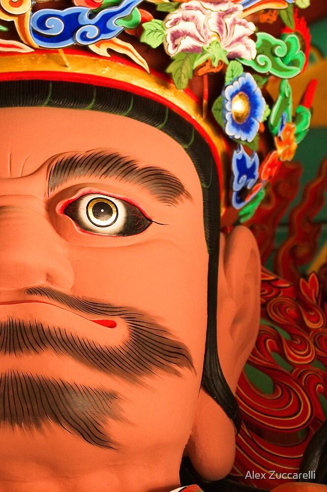Gwangmok, King of the West - Ssangye Temple, South Korea by Alex Zuccarelli