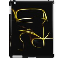 Willies Glowing Outline iPad Case/Skin