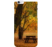Autumn in Mt Victoria iPhone Case/Skin
