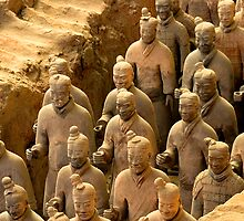 Terracotta Army - Shaanxi, China by Alex Zuccarelli