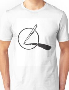 My Pen Is my Quill Unisex T-Shirt