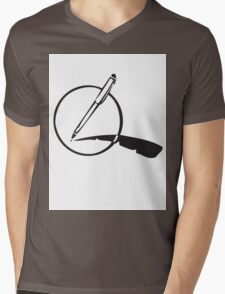 My Pen Is my Quill Mens V-Neck T-Shirt