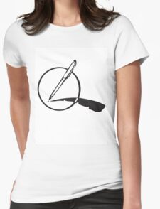 My Pen Is my Quill Womens Fitted T-Shirt