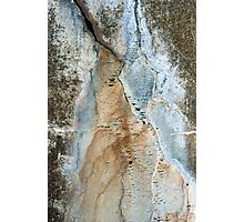 Cracks in History Photographic Print