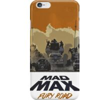 Mad Max Fury Road Action Film  iPhone Case/Skin