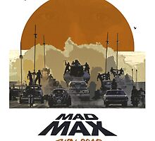 Mad Max Fury Road Action Film  by ghostship