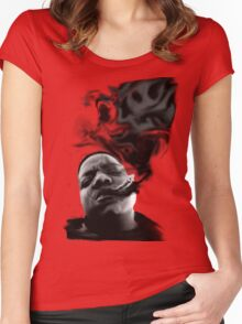 Notorious B.I.G. Women's Fitted Scoop T-Shirt