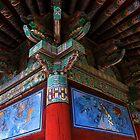 Buddhist Artistry - Seongnam Temple, South Korea by Alex Zuccarelli