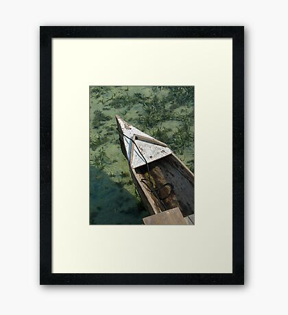 Carribean Water Framed Print
