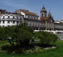 Avenida Central, Braga by wiggyofipswich