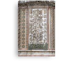 Orvieto - Dome - Sermons  of Stone Canvas Print