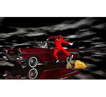 Hades Got Talent Part2b - Hades Psychic Broadcasting's Jumbrotron Photographic Print