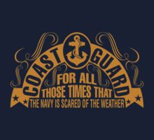Coast Guard For All Those Times That The Navy Is Scared Of The Weather by classydesigns