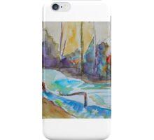 Riverbank Imagined iPhone Case/Skin