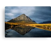 Buachaille Etive Mor, Glen Coe, Highlands of Scotland. Canvas Print