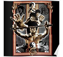 Bruce Lee Enter The Dragons Poster