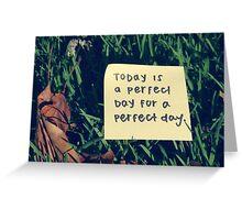 Post It Greeting Card