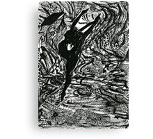 Let's dance with Mother Nature! Canvas Print