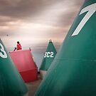 Boy's buoys by Adrian Donoghue