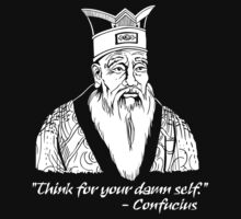 Confucius Say by DcReddawn