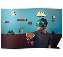 Luigi Homemade Poster