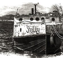Fishing Vessel Shelly by Theodore Black