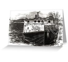 Fishing Vessel Shelly Greeting Card
