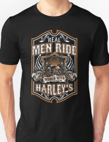Real Men Ride Women With Harley's T-Shirt