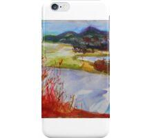 Red Riverbank  iPhone Case/Skin