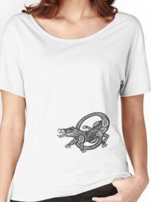 Dancing Alligator Tee Women's Relaxed Fit T-Shirt