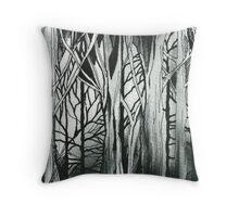 Woods Detail Throw Pillow