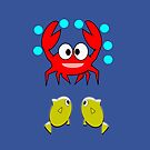 crab & 2 fish (7165 Views) by aldona