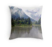 Wilderness River Throw Pillow