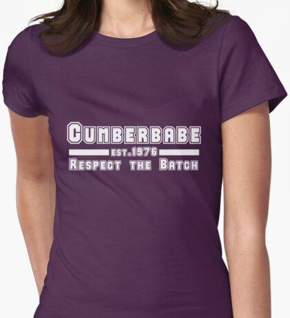 Cumberbabe <3 Benedict Cumberbatch Womens Fitted T-Shirt
