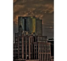 Brick and Glass Photographic Print