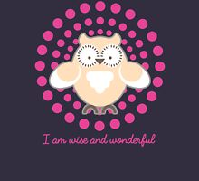 Wise and Wonderful version 2 Womens Fitted T-Shirt