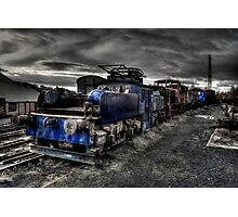 Marley Hill Engine Yard Photographic Print