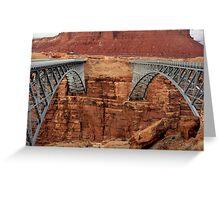 Navajo Bridge(s) Greeting Card