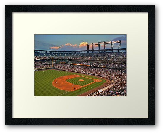 Coors Field by Gene  Tewksbury