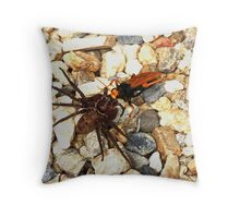The huntsman hunted 1 Throw Pillow