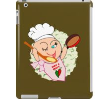 Chef at work  (5724 Views) iPad Case/Skin