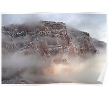 Morning in the Vermillion Cliffs Poster