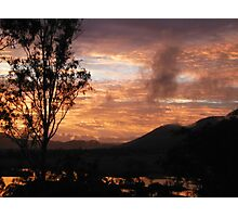 Villeneuve Sunset Photographic Print